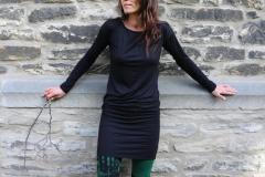Kleid Sandra Schwarz